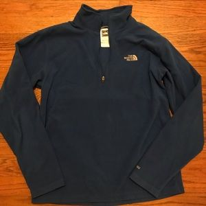 The North Face Boys Large Quarter Zip Pullover